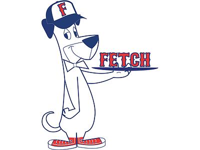Huckleberry Hound Logo Option adobe illustrator cartoon