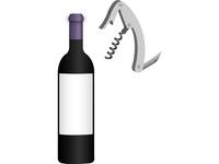 Wine & Cork Screw