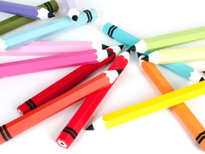 Pop Tone Paper Pencils