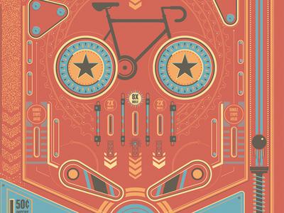 ARTCRANK Cycling Pinball