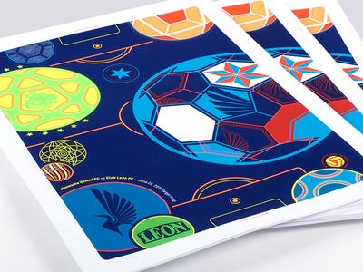 MN United Football Club Poster