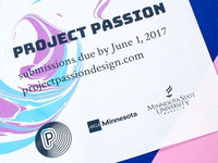 Project Passion Call for Entries