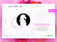 Creative Agency (Home page)