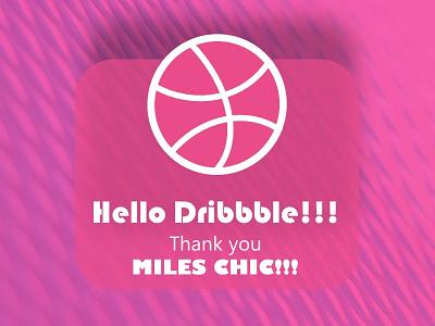Dribblethankyou hello hellodribble debut thankyoushot shot you thank dribblethankyou