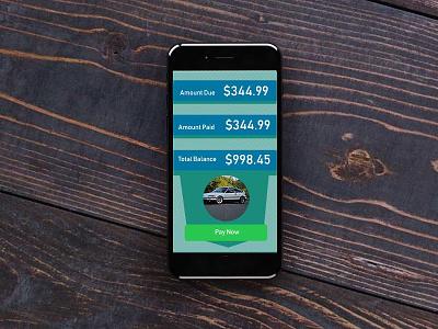 Loanpaymentscreen mobile throw free ui loan bank