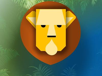 Lion Icon icon rebounds rebound branding illustration logo
