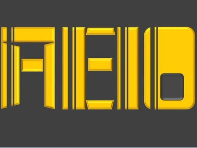 Font Aeio design daily typography illustration branding logo circles squares ppt warmup dailyui font
