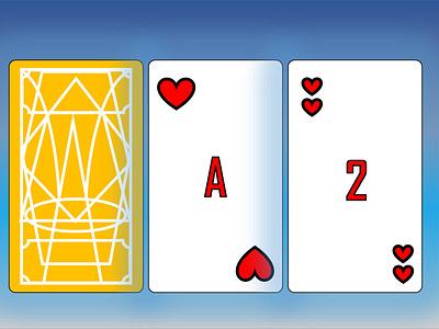 Playing Cards weeklywarmup rebounds icon design illustration branding dailyui