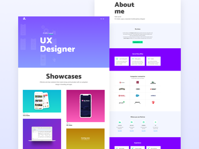 UX Design portfolio sitio web portfolio uidesign website ux design web design ux ui graphic design logo identity branding design