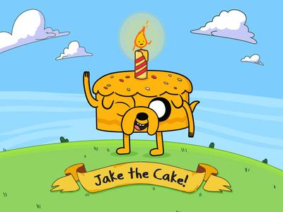 Jake The Cake jake the cake etsy cartoon network invitation birthday cake jake the dog adventure time