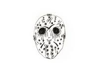 Inktober Day 31 - Mask