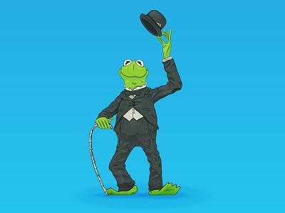 Kermit The Frog landmark los angeles muppets jim henson sesame street charlie chaplin kermit the frog