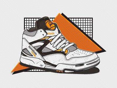 Reebok The Pump! oldschool kicks retro basketball classic pump sneakers shoes reebok