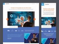 Spredfast Platform Page