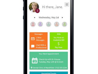 Patient Portal Mobile App patient portal mobile app source sans pro clean
