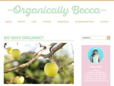 Organically Becca Blog
