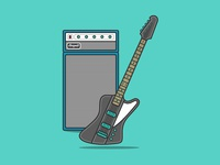 Interactive Bass Guitar And Amp 🎸