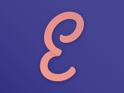 #Typehue Week 5: E typography e typehue type letter design challenge