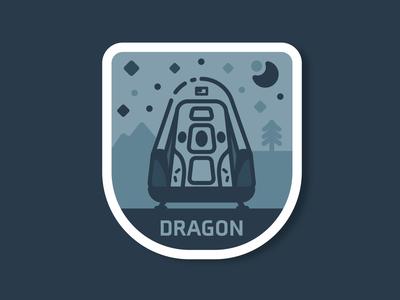 Dragon capsule nasa explore planetary starship planet stars travel space dragon spacex