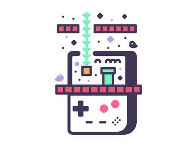 Doo Doo Doot ♬ nintendo ghosts game videogames retro land mario gameboy
