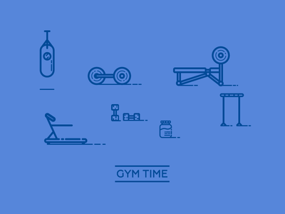 Gym Icons round 2