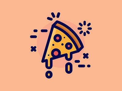 Pizza! nom pepperoni cheesy food pizza
