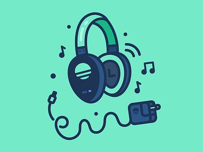 Music Vibes earphones charger headphones music