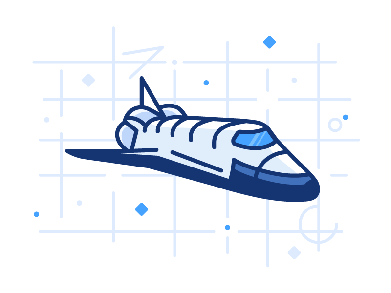 Space Travel planet stars travel ship shuttle space