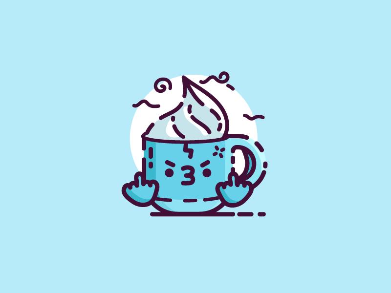 Mean Mug drink cocoa chocolate hot coffee mad mug