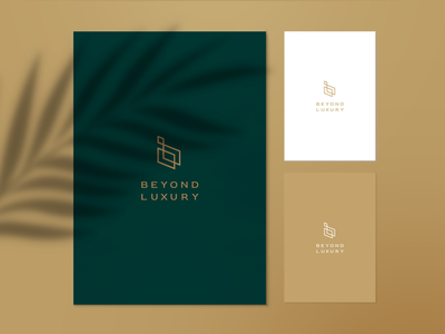 Beyond Luxury | Brand Identity illustration design logo design branding logo
