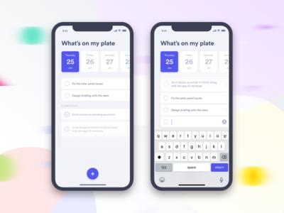 Daily UI - Task tracker to do ui list daily ui ui challange task
