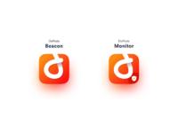 Dopods app icon both light bg