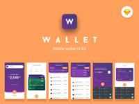 Wallet Mobile UI Kit