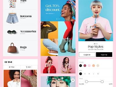 Ecommerce App concept ecommerce branding ios app app ux ui design