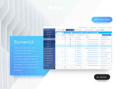 The Introduction of system ui template