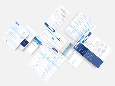 Vital UI kit showcase