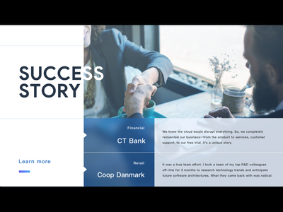 GSS Success Story success blog taiwan design ui blur layout user story