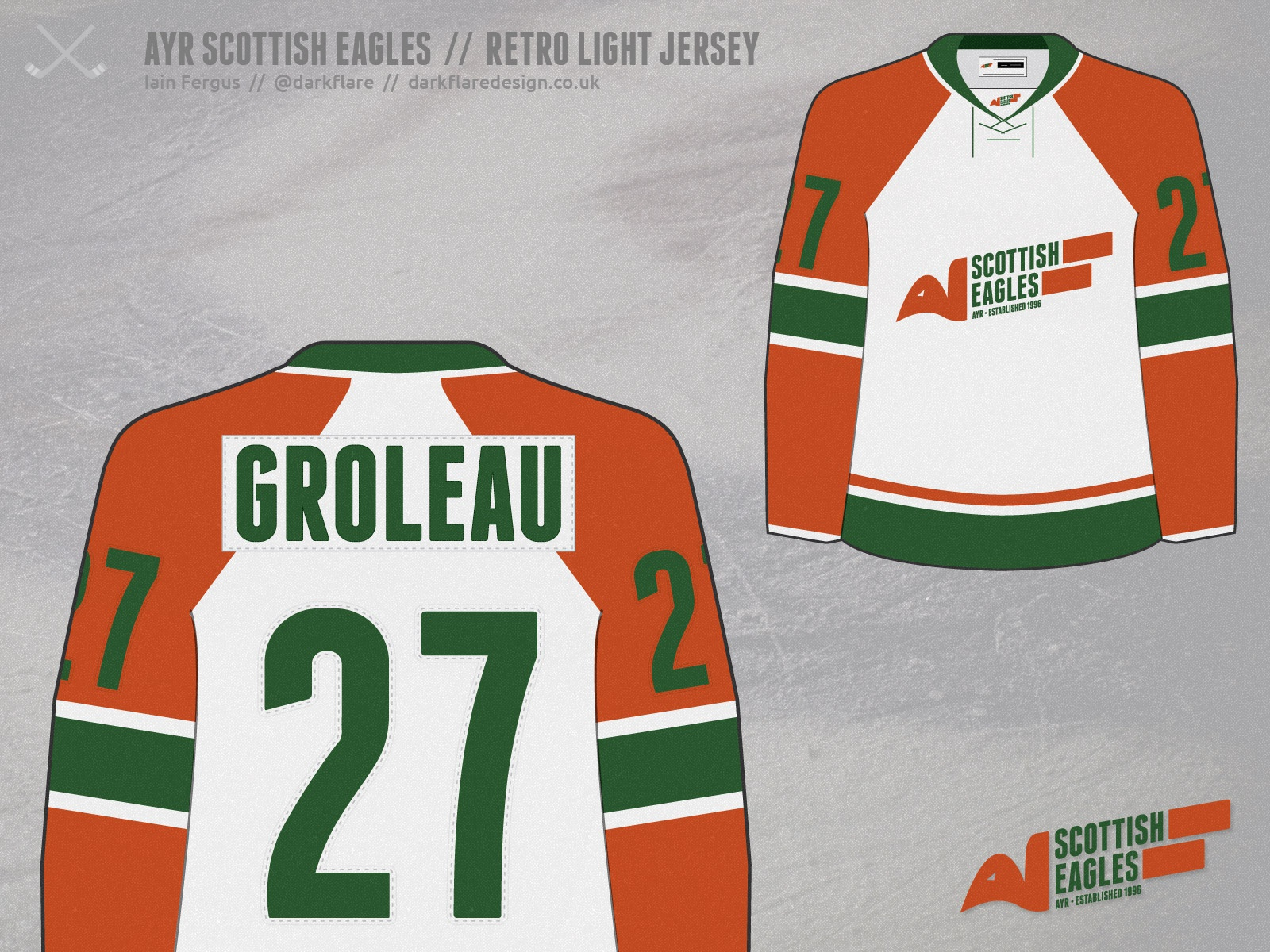 detailed pictures 738de f8848 Dribbble - ayr-scottish-eagles-retro-light-jersey.jpg by ...