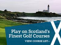 Golf Website Banner Image