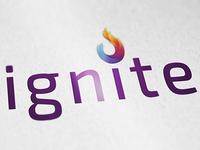 Ignite Wordmark Print