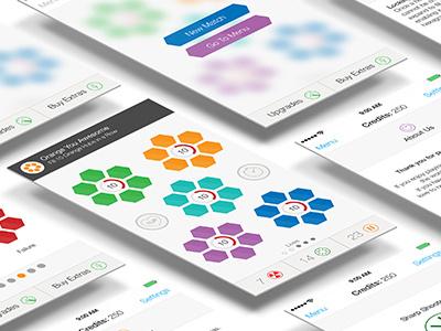 Hexagonal App game ios