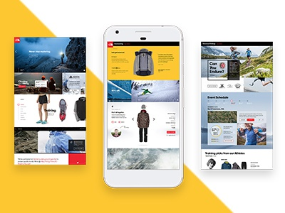 The North Face Mobile Concept