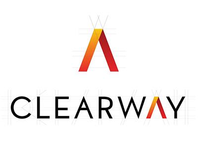Clearway Wireless identity branding logo