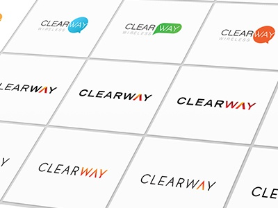 Clearway Logo Explorations
