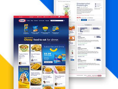 Kraft Recipes desktop website
