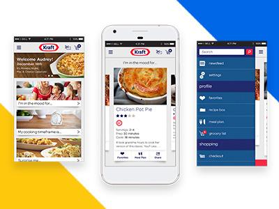 Kraft Recipes Mobile responsive mobile