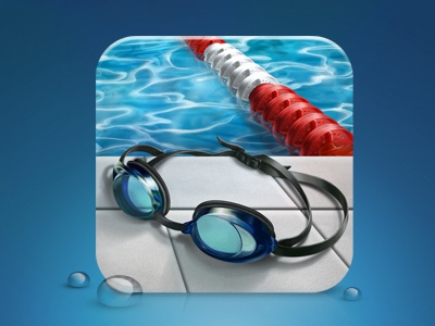 Swim swim icon ios desktop photoshop