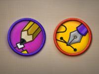 Merit badges 2x