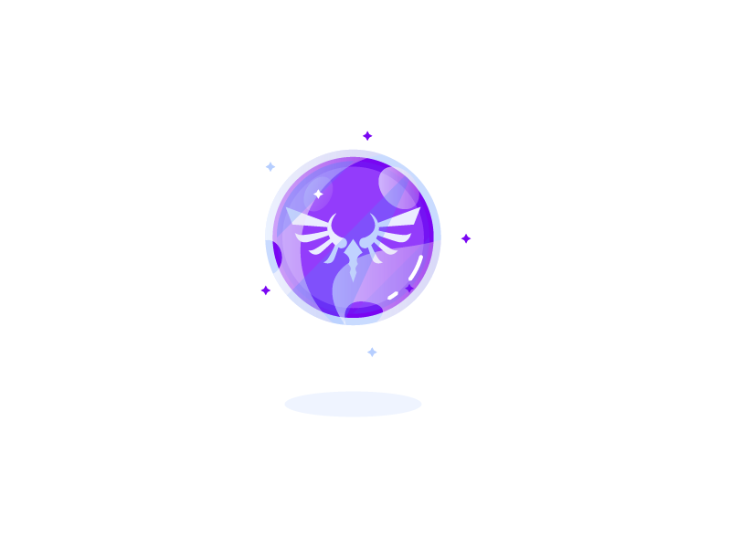 Spirit Orb from Breath Of The Wild by Superchouette on Dribbble