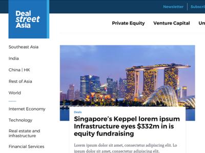 DSA - News Portal redesign